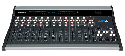AIR4 radio console from audioarts engineering